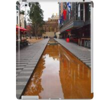 City Square on a wet day Melbourne VIC Australia iPad Case/Skin