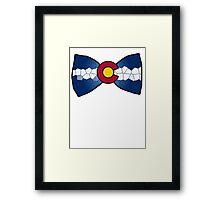 Colorado Bow-Tie Framed Print