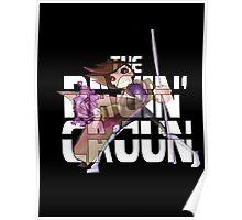 The Ragin' Cajun (Gambit; Black Background) Poster