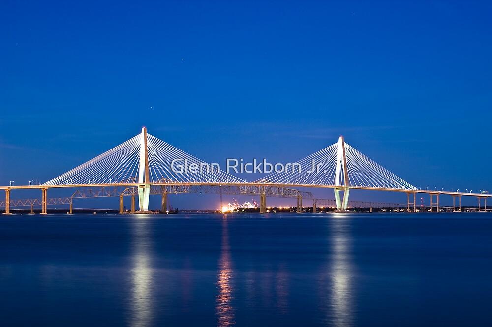Bridges of The Cooper River - Charleston, S.C. by Glenn Rickborn Jr.