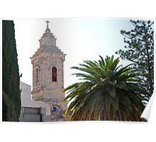 Church of the Pater Noster - Jerusalem, Israel Poster