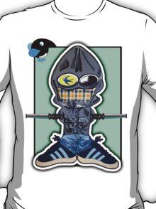 Casual kicks Blue Bird in Goggle T-Shirt