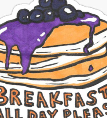 Blueberry Pancakes Sticker