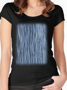 Ripples on Lake Superior Women's Fitted Scoop T-Shirt