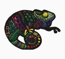 Oaxacan Chameleon Kids Tee
