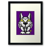 Rock Tom Cat  Framed Print