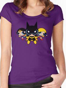 Supertough Girls Women's Fitted Scoop T-Shirt