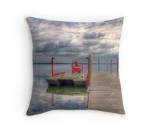 Storm Front 2 Throw Pillow