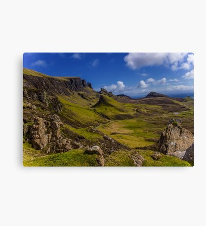 My Heart's in the Highlands Canvas Print