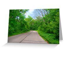 Arboretum Drive Greeting Card
