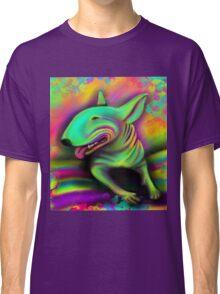 English Bull Terrier Colour Splash  Classic T-Shirt