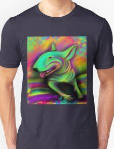 English Bull Terrier Colour Splash  Unisex T-Shirt