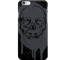 Sprayed Skull iPhone Case/Skin