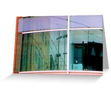 Curvilinear Motion Greeting Card