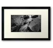 Down In It (version II) Framed Print