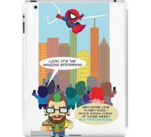 HIPSTER VS. SPIDEY iPad Case/Skin