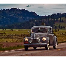 1939 Ford Deluxe Photographic Print