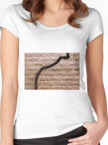 On The Up And Up Women's Fitted Scoop T-Shirt