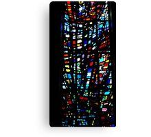 Stain Glass Window Canvas Print