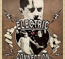 The Electric Connection (Old Postcard ) by torg