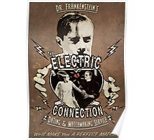 The Electric Connection (Old Paper Poster) Poster