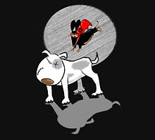 Able to leap Bull Terriers in a single bound... Unisex T-Shirt