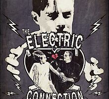 The Electric Connection (Old Metal Sign) by torg