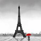 Paris (Vectorillustration) by CarolinaMatthes
