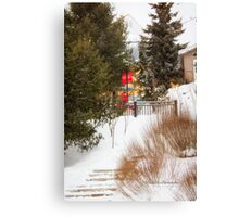 Tremblant Resort in Winter Canvas Print