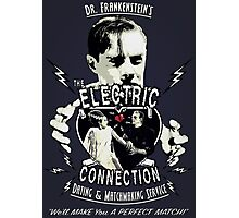 The Electric Connection (Vintage Sign) Photographic Print
