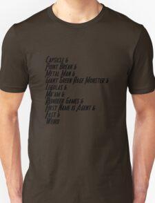 Nicknames 2.0 Unisex T-Shirt