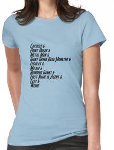 Nicknames 2.0 Womens Fitted T-Shirt