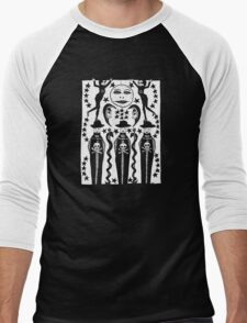 MOON-CURSED Men's Baseball ¾ T-Shirt