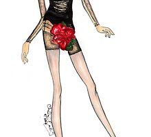 """""""Nikita"""": Alexander McQueen by Chelsea Easley"""