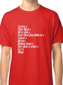 Nicknames 2.0 Classic T-Shirt