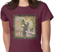 Popular Science: Marie Curie (distressed) Womens Fitted T-Shirt