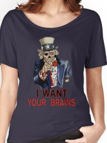 Uncle Sam Zombie Women's Relaxed Fit T-Shirt