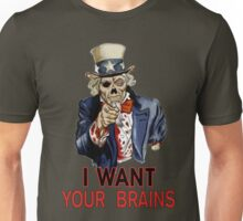 Uncle Sam Zombie Unisex T-Shirt