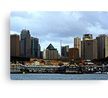 View Of Sydney #2 Canvas Print