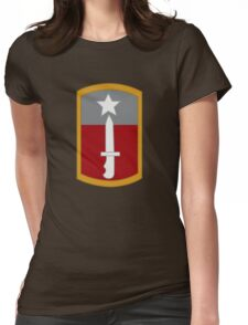 205th Infantry Brigade (United States) Womens Fitted T-Shirt