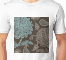Mocha Paisley Unisex T-Shirt