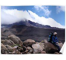Mawenzi Peak - Kilimanjaro Poster