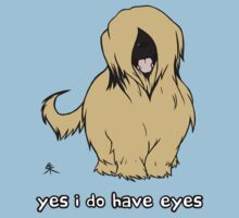 Briard - Yes, I have eyes. w/ TEXT by Shukura
