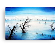 Silent Reflections Canvas Print