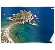 Perfect Sicilian sea Poster