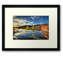 Willow Cove Framed Print