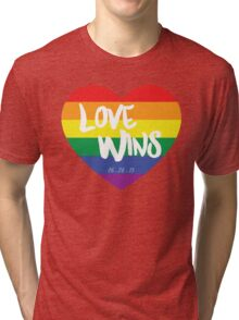 Love Wins Tri-blend T-Shirt