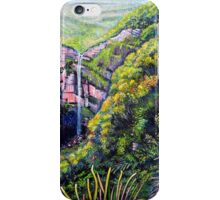 Govetts Leap Falls, Blue Mountains iPhone Case/Skin