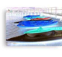 Kayak Spirit   Canvas Print