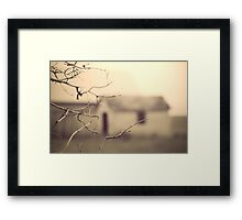 Retrace my steps Framed Print